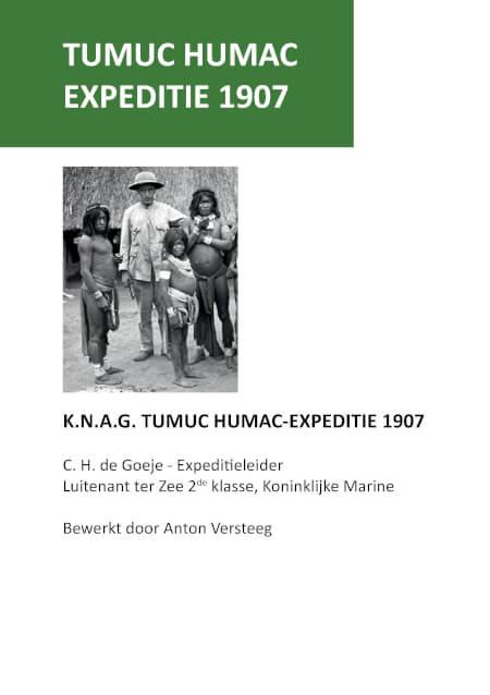 Cover Toemoek Hoemak expeditie 1907
