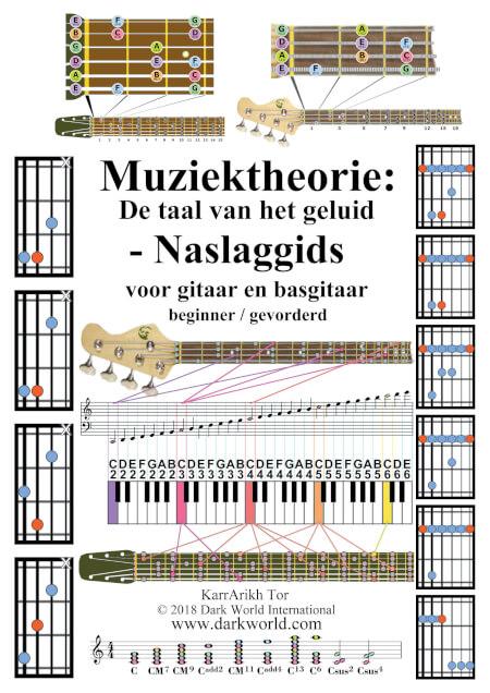 Cover Muziektheorie: De taal van het geluid - Naslaggids