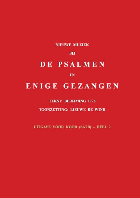 Cover Nieuwe muziek bij de psalmen en enige gezangen - Uitgave voor koor (satb), deel 2