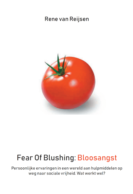Cover Fear Of Blushing: Bloosangst