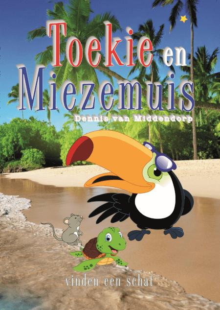 Cover Toekie en Miezemuis vinden een schat