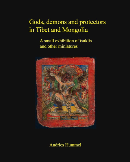 Cover Gods, demons and protectors in Tibet and Mongolia