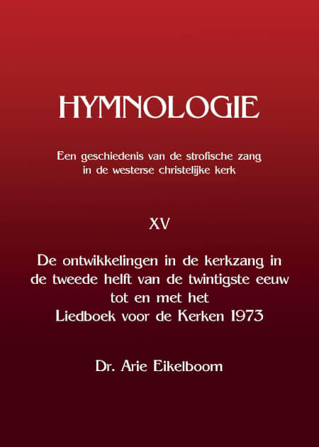 Cover Hymnologie XV