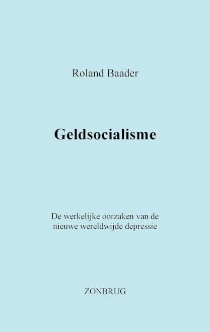 Cover Geldsocialisme