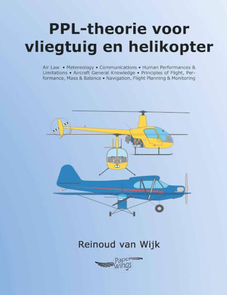 Cover PPL-theorie voor vliegtuig en helikopter