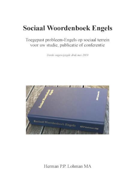 Cover Sociaal Woordenboek Engels