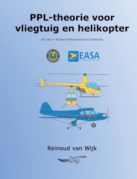 Cover PPL-theorie voor vliegtuig en helikopter, FAA conversie EASA