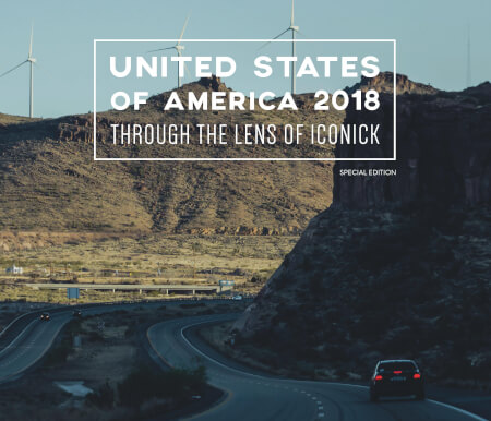 Cover United States of America 2018 Through the Lens of Iconick (Special Edition)