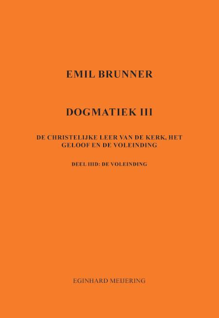 Cover Emil Brunner Dogmatiek 3d