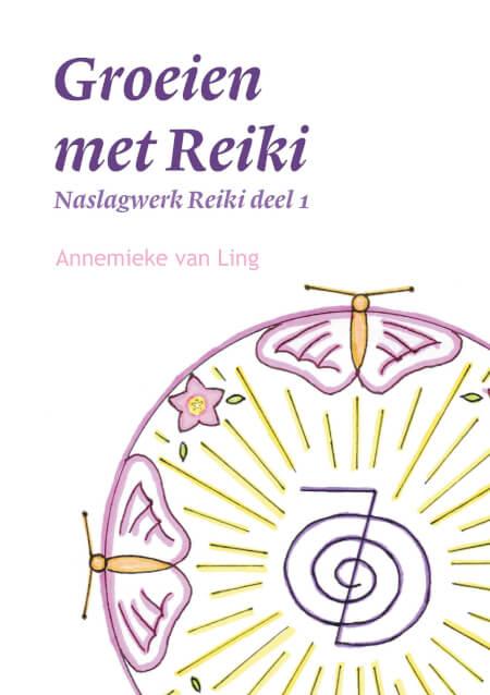 Cover Groeien met Reiki