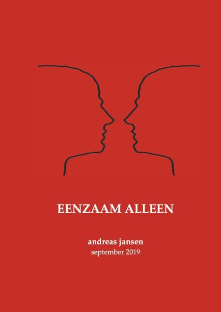 Cover Eenzaam Alleen
