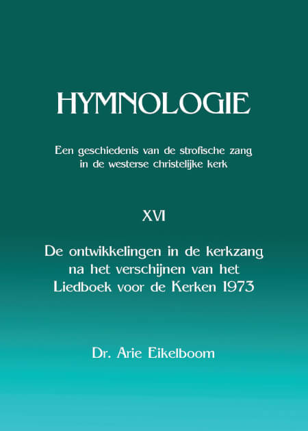 Cover Hymnologie XVI