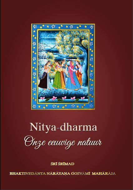 Cover Nitya-dharma