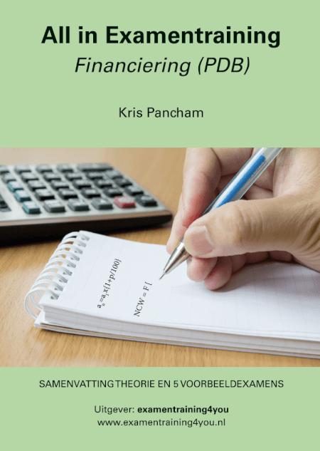 Cover All in Examentraining FINANCIERING PDB