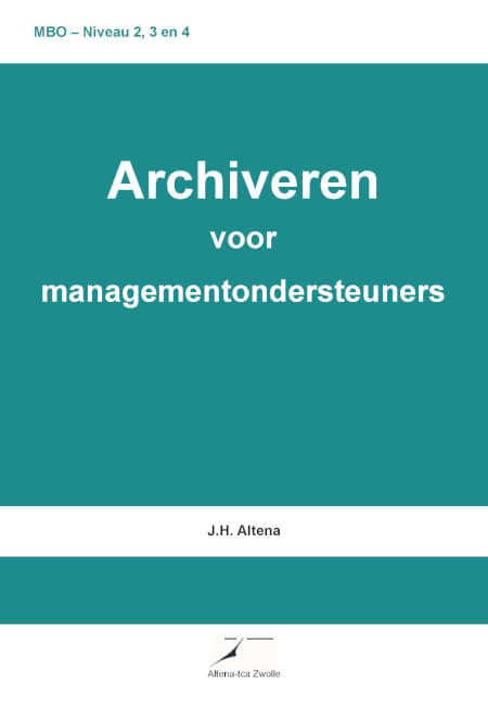 Cover Archiveren voor managementondersteuners