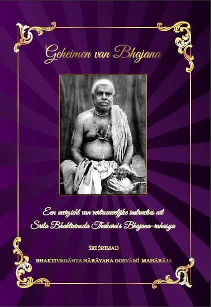 Cover geheimen van bhajana