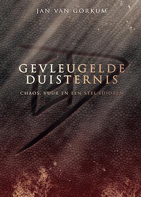 Cover Gevleugelde Duisternis (hardcover)