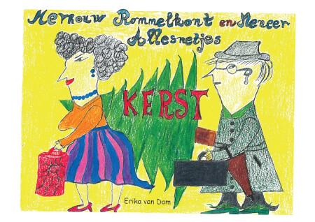 Cover ROMMELKONT KERST (paperback)