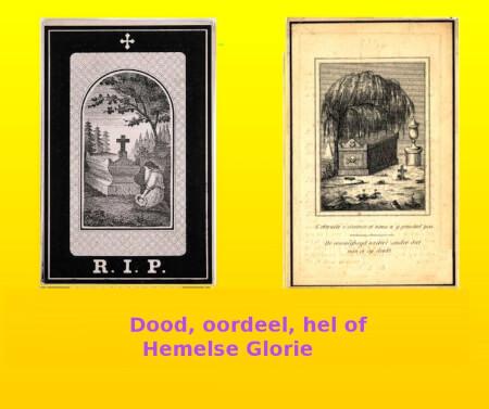 Cover Dood, oordeel, hel en Hemelse glorie