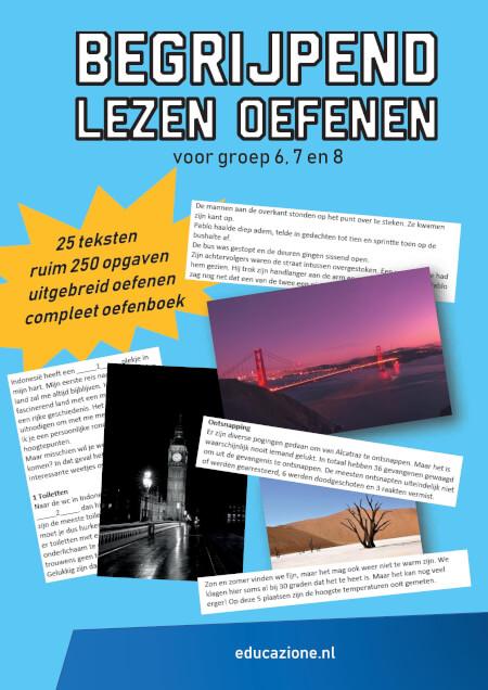 Cover Begrijpend Lezen Oefenen voor Groep 6, 7 en 8
