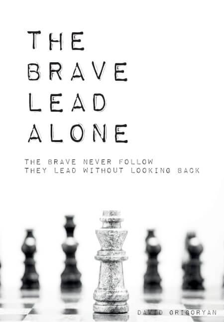 Cover The Brave Lead Alone