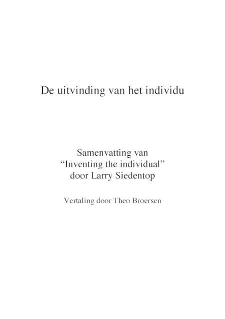 Cover Uitvinding