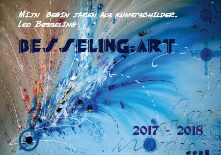 Cover Mijn begin jaren als kunstschilder. Jaarboek 2017-2018