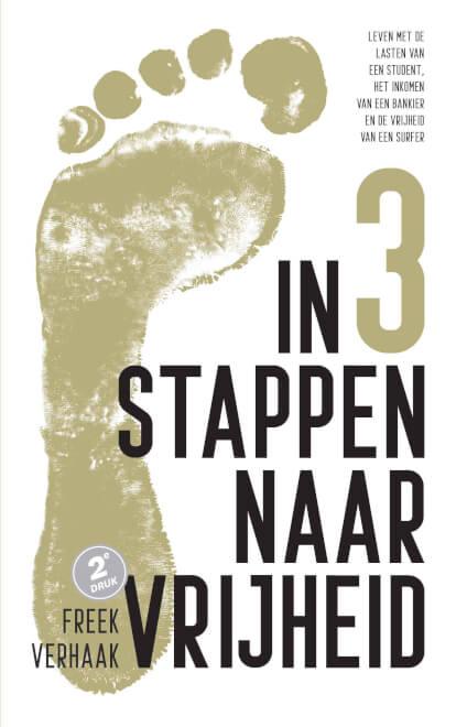 Cover IN 3 STAPPEN NAAR VRIJHEID