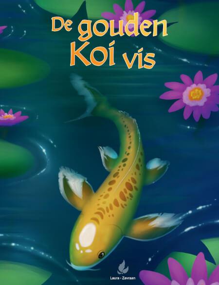 Cover De gouden koi vis