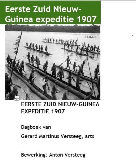 Cover Dagboek Eerste Zuid Nieuw-Guinea Expeditie
