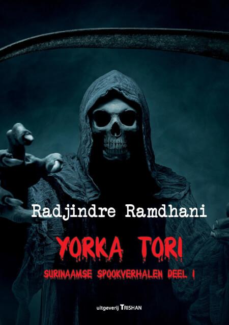 Cover Yorka Tori, Surinaamse Spookverhalen  deel 1, herdruk
