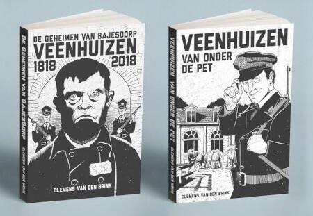 Cover De Geheimen van BajesDorp + Veenhuizen onder de Pet