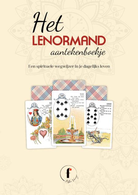 Cover Het Lenormand aantekenboekje