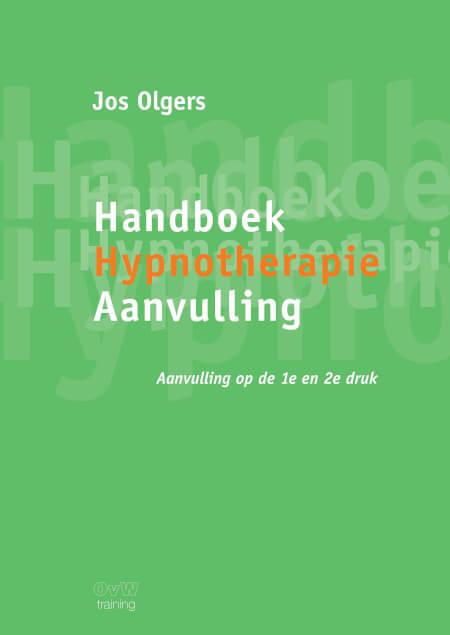 Cover Handboek Hypnotherapie Aanvulling