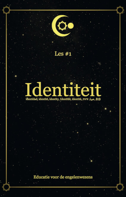 Cover Les 1 - Identiteit