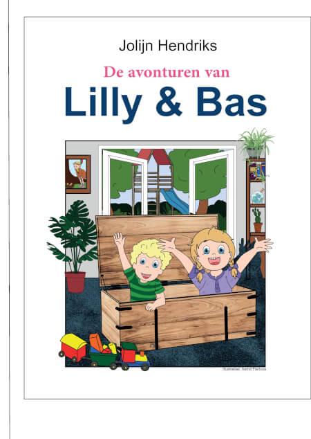 Cover De avonturen van Lilly en Bas