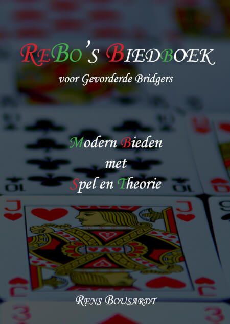 Cover ReBo's Biedboek voor Gevorderde Bridgers