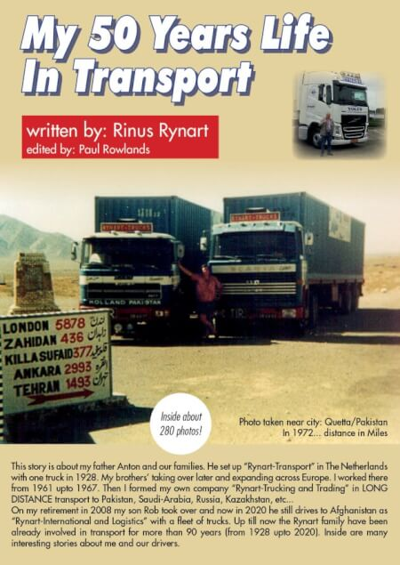 Cover My 50 years life in Transport