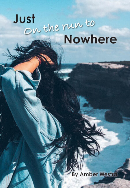 Cover Just on the run to nowhere (Paperback)