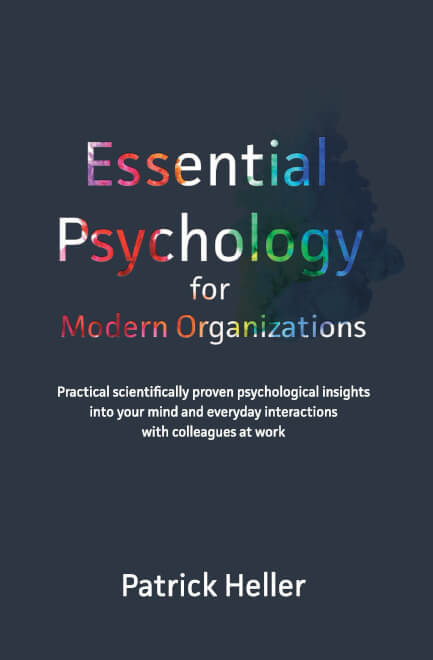 Cover Essential Psychology for Modern Organizations