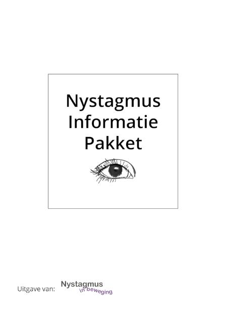 Cover Nystagmus Informatie Pakket