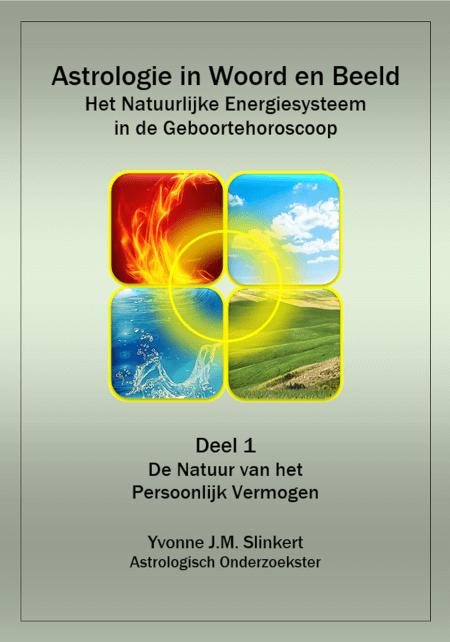 Cover Astrologie in Woord en Beeld, het natuurlijke energiesysteem in de geboortehoroscoop
