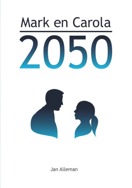 Cover Mark en Carola 2050 paperback