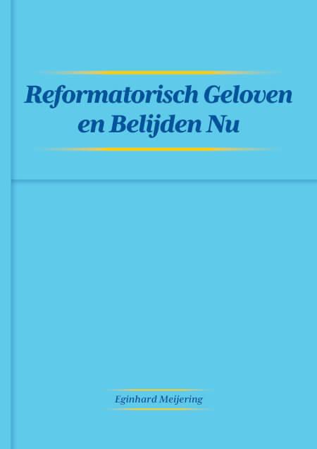 Cover Reformatorisch Geloven en Belijden Nu