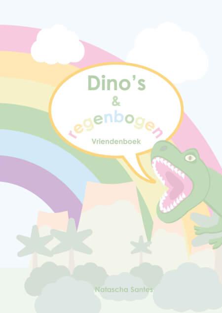 Cover Dino's en regenbogen