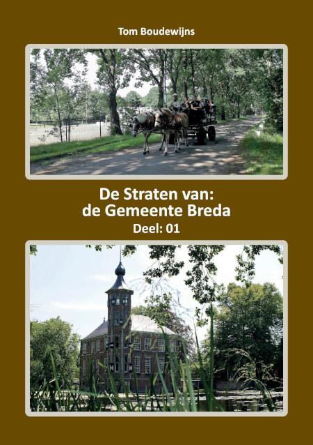 Cover De Straten van de Gemeente Breda (Deel: 01)