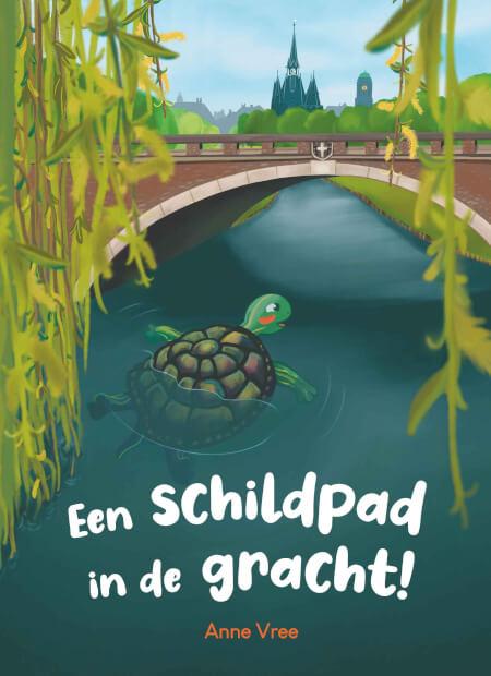 Cover Een schildpad in de gracht!