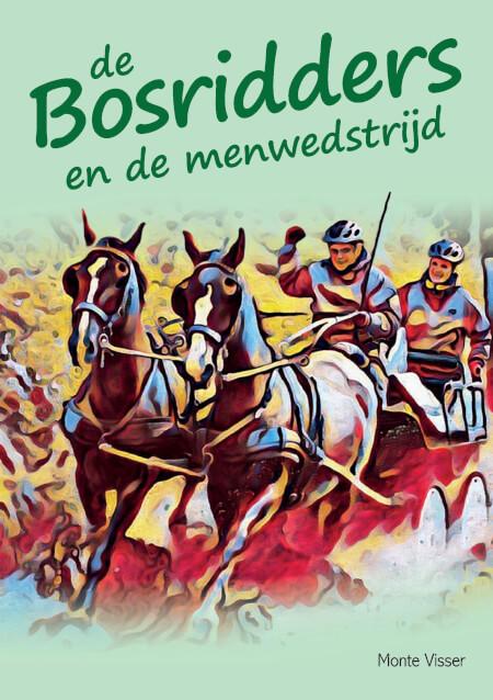 Cover De Bosridders en de menwedstrijd