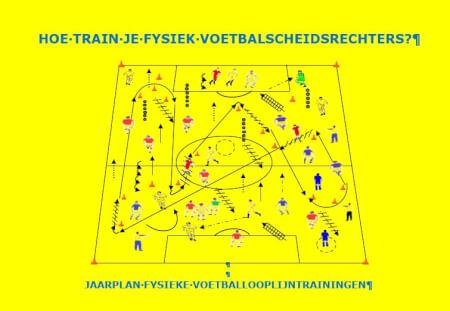 Cover Hoe train je fysiek voetbalscheidsrechters