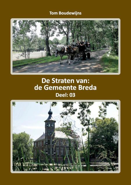 Cover De Straten van de Gemeente Breda Deel: 03